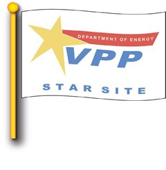 DOE Star Site Flag 4' x 6'